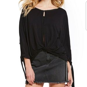 NWT Free People Keepin' On Blouse